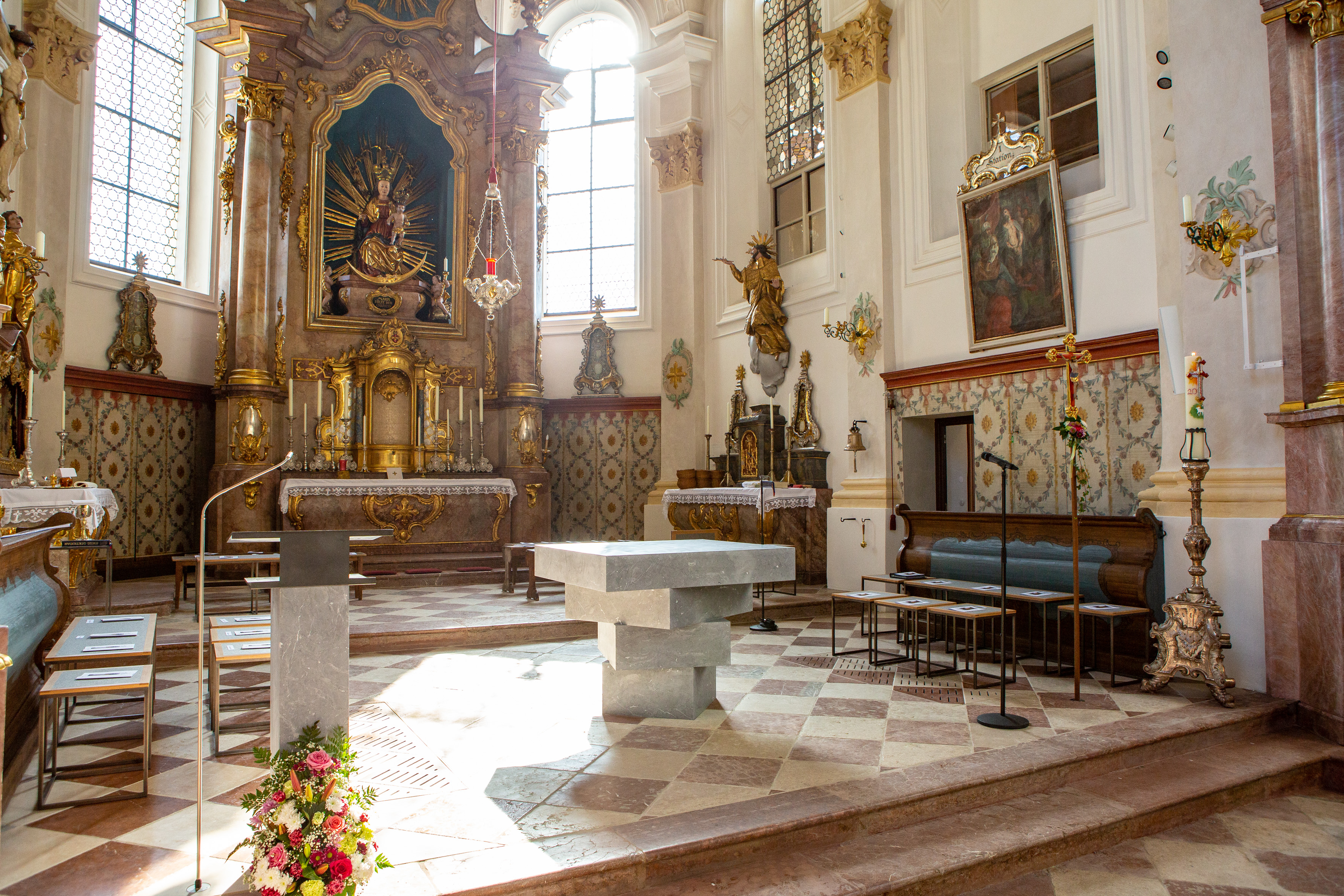 Pfarrkirche Mariä Himmelfahrt Bad Aibling Altar