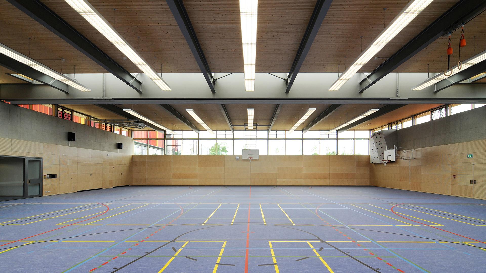 Sporthalle Neubiberg Halle