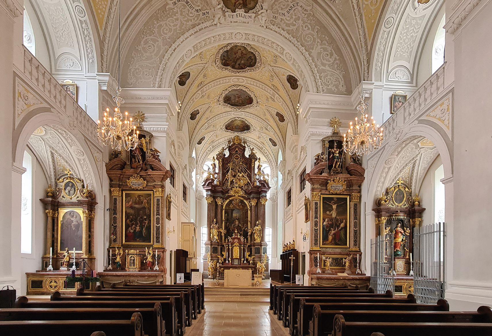 Stadtpfarrkirche St. Oswald Altar
