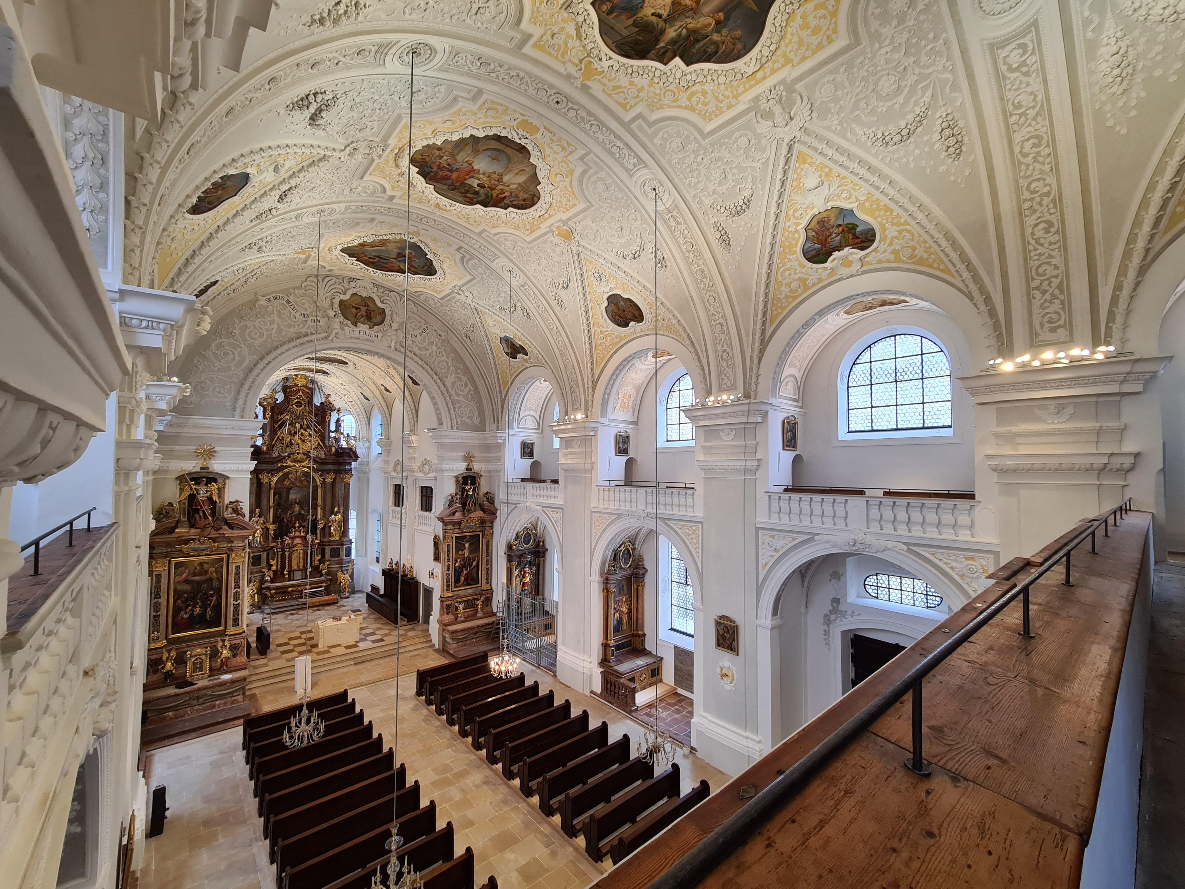 Stadtpfarrkirche St. Oswald Innen
