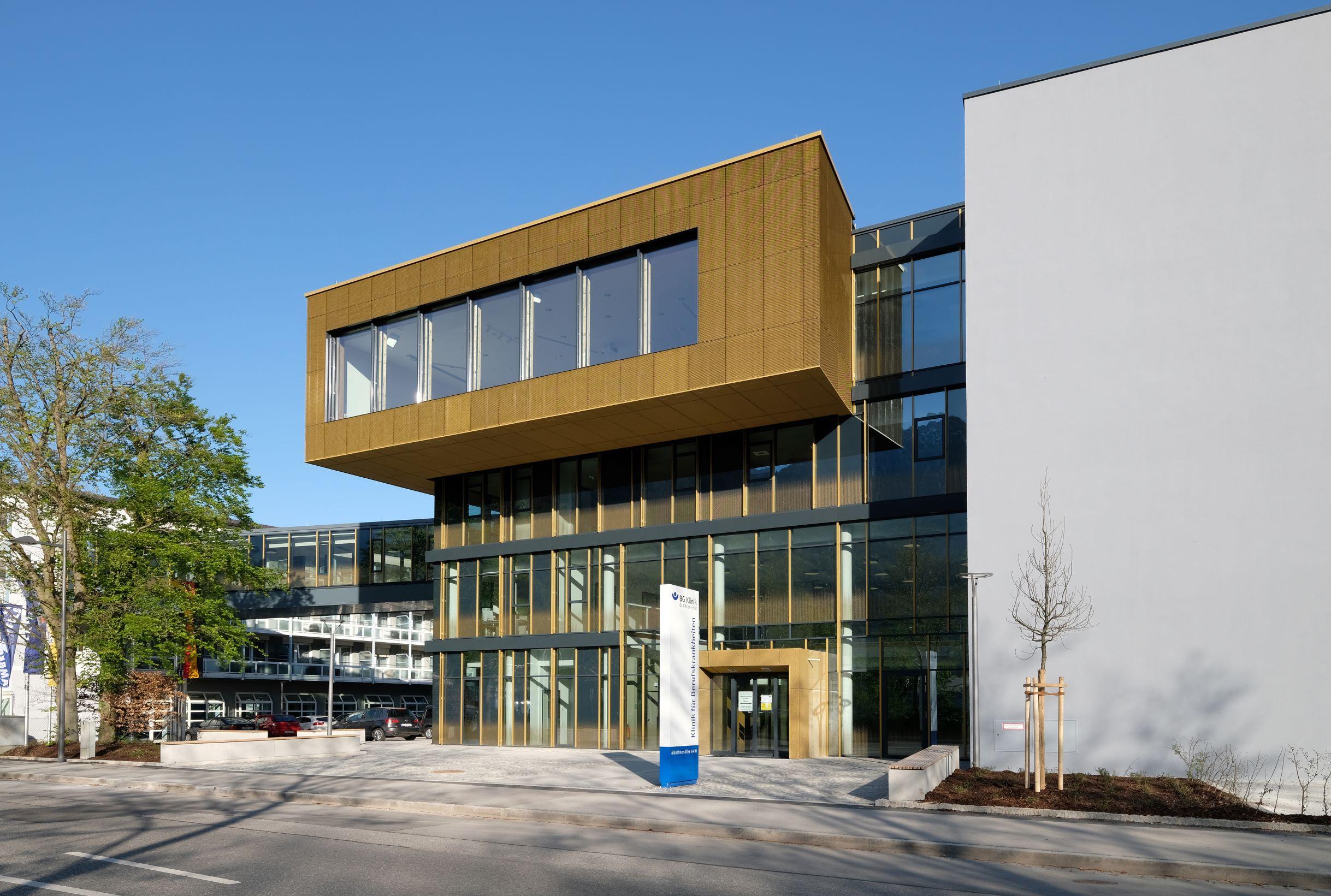BG Klinik Bad Reichenhall Aussen