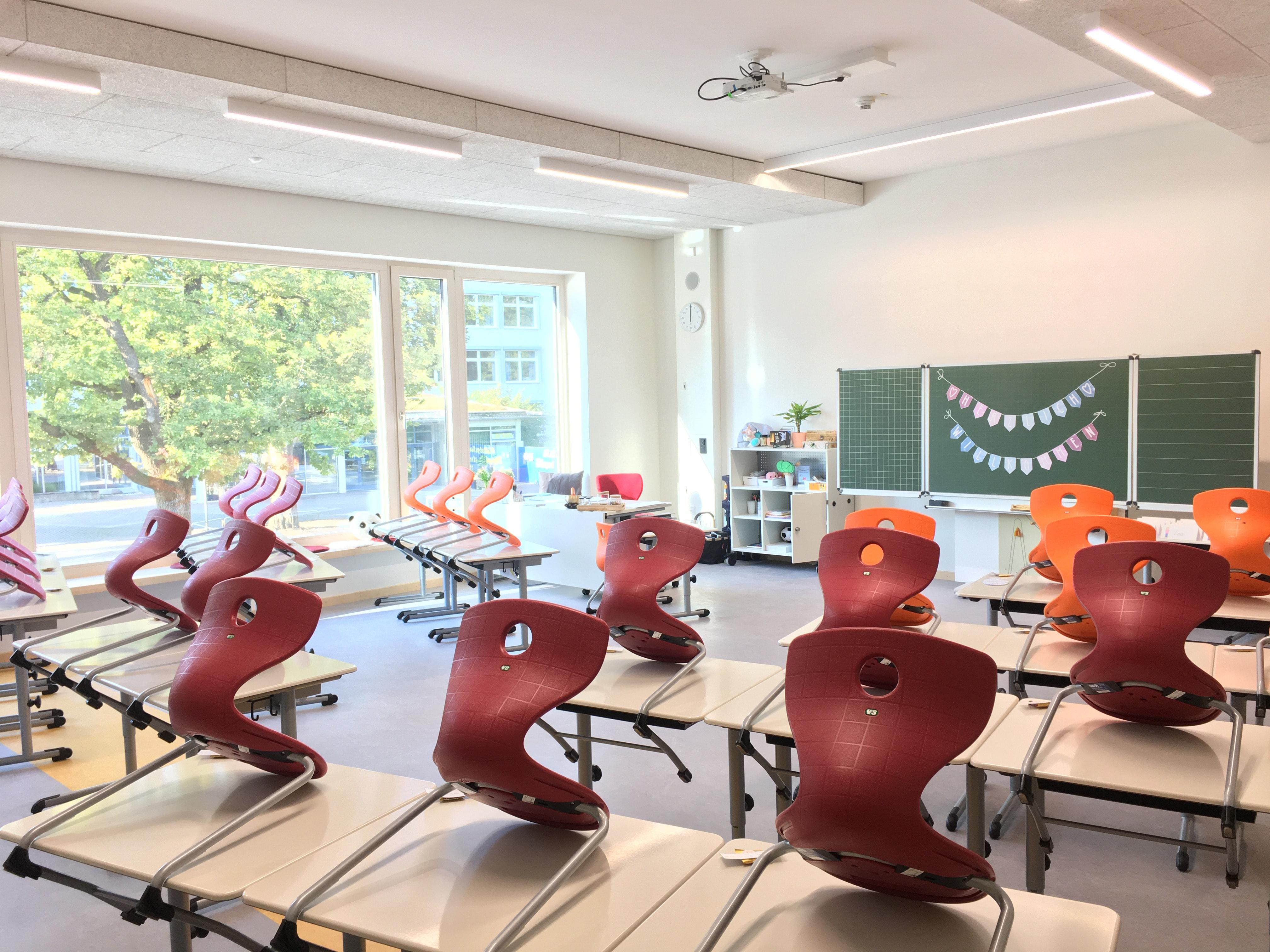 Klassenzimmer Grundschule Dieselstraße Waldkraiburg