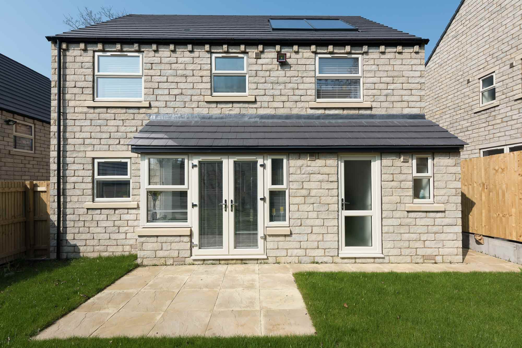 new build with pvcu windows