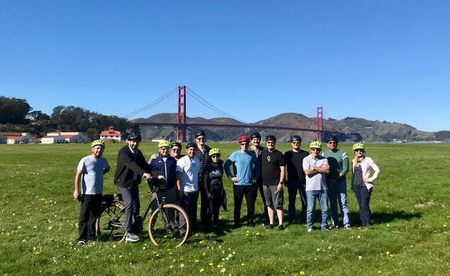 team photo crissy field