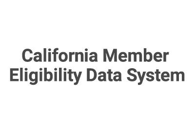 California Member Eligibility Data System