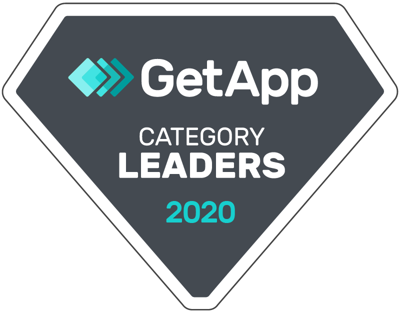 GetApp Category Leaders 2020 badge