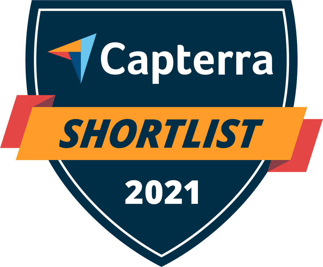 Capterra shortlist award