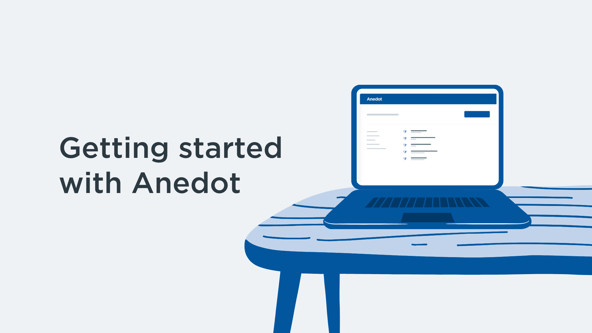 Getting started with Anedot course