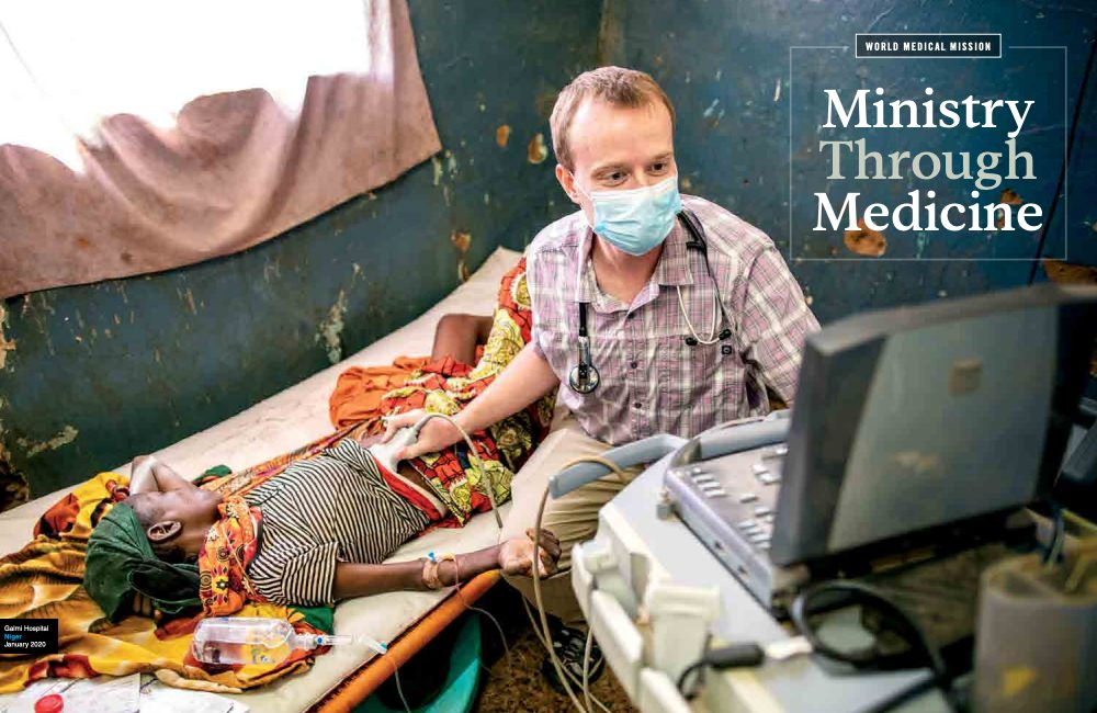 Samaritan's Purse uses high quality images in their annual report