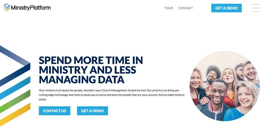 Ministry Platform Church Software
