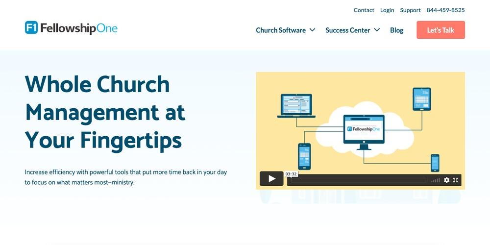 FellowshipOne Church Software