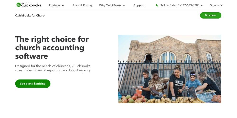 Quickbooks Church Software