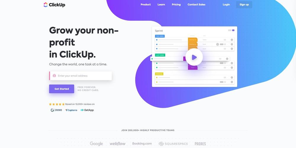 ClickUp Church Software