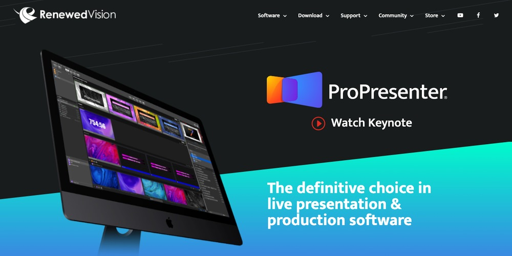 ProPresenter Church Software