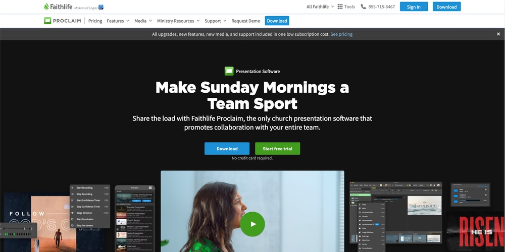 Proclaim Church Software