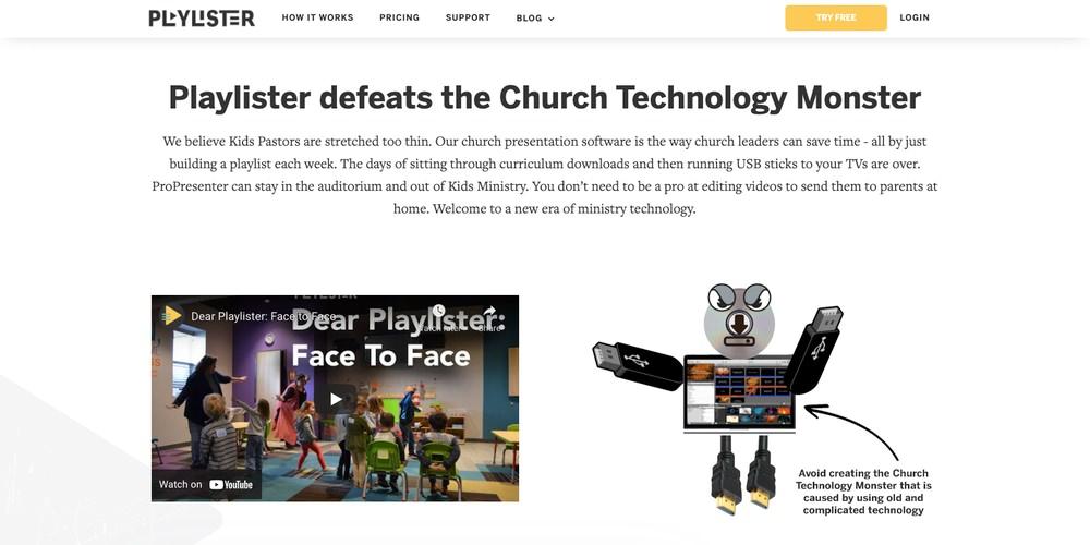 Playlister Church Software