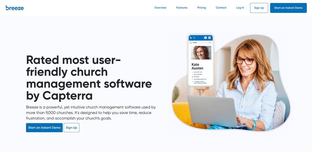 Breeze Church Software