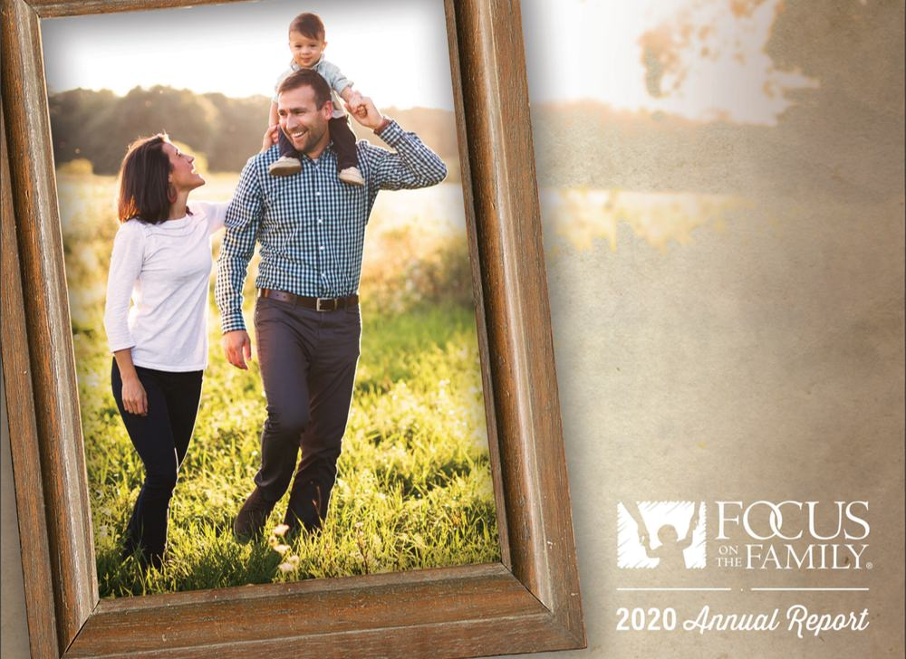 Focus on the Family annual report example