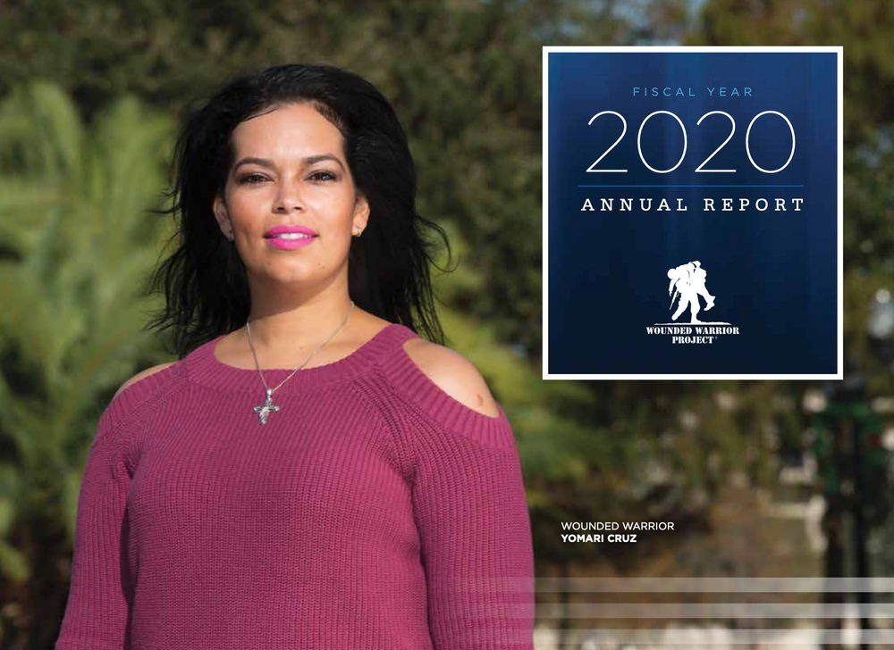 Wounded Warrior Project annual report example
