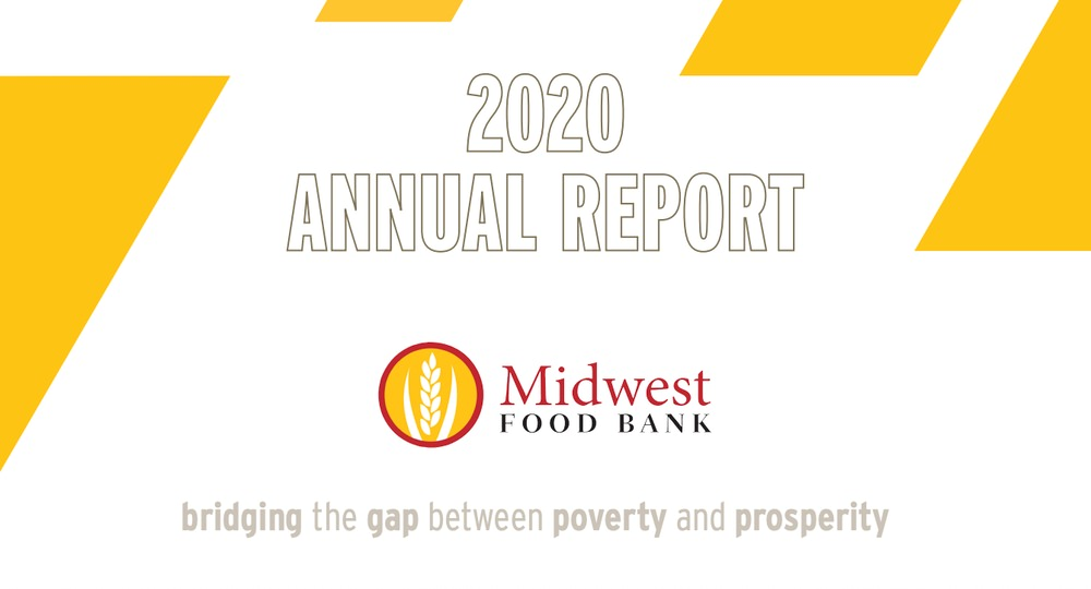 Midwest Food Bank annual report example