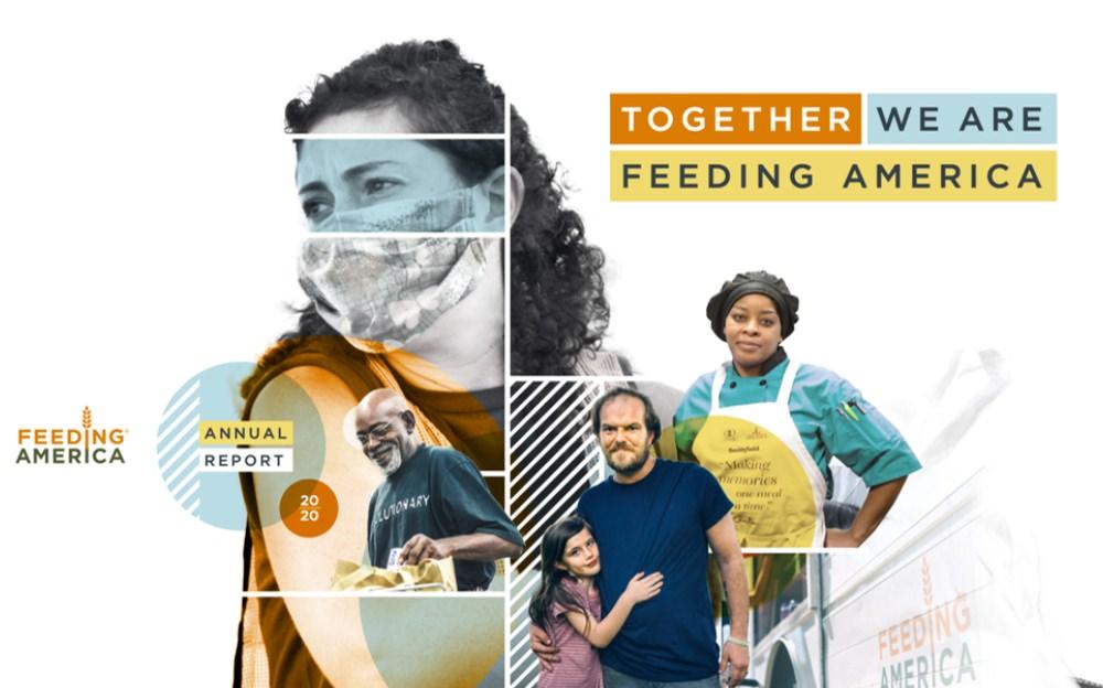 Feeding America annual report example