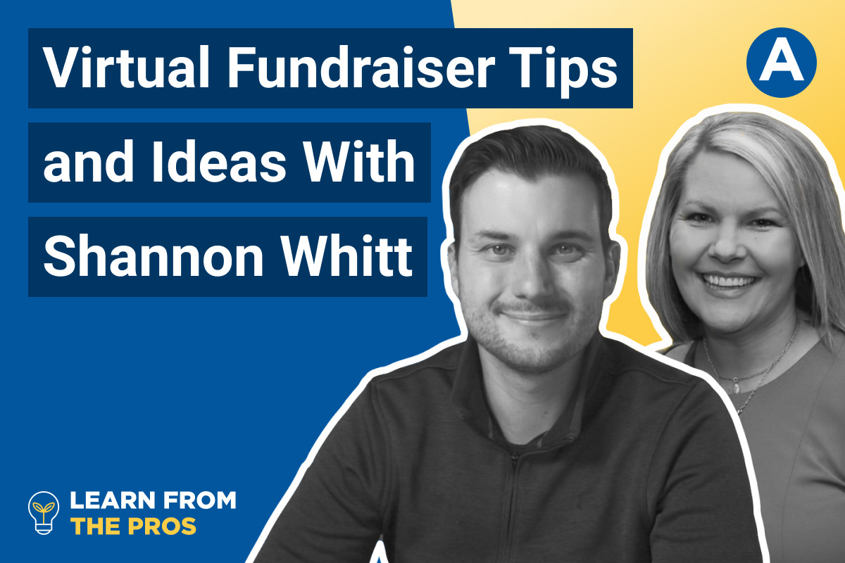 Virtual Fundraiser: Tips and Ideas from A Pro