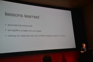 Chris Becker's Conference Conclusions