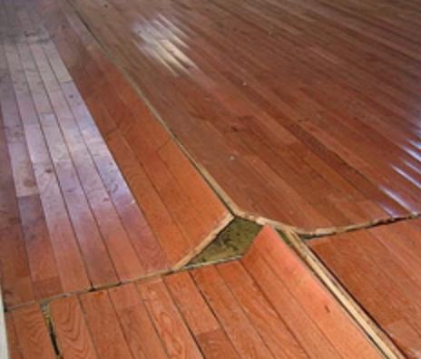 wood floor failure