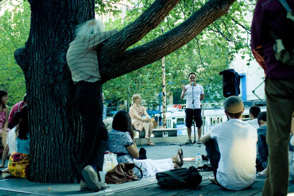 Melbourne Free University session
