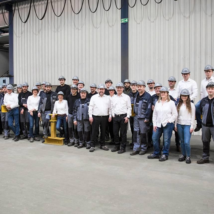 Gruppenfoto Mitarbeiter VETTEN