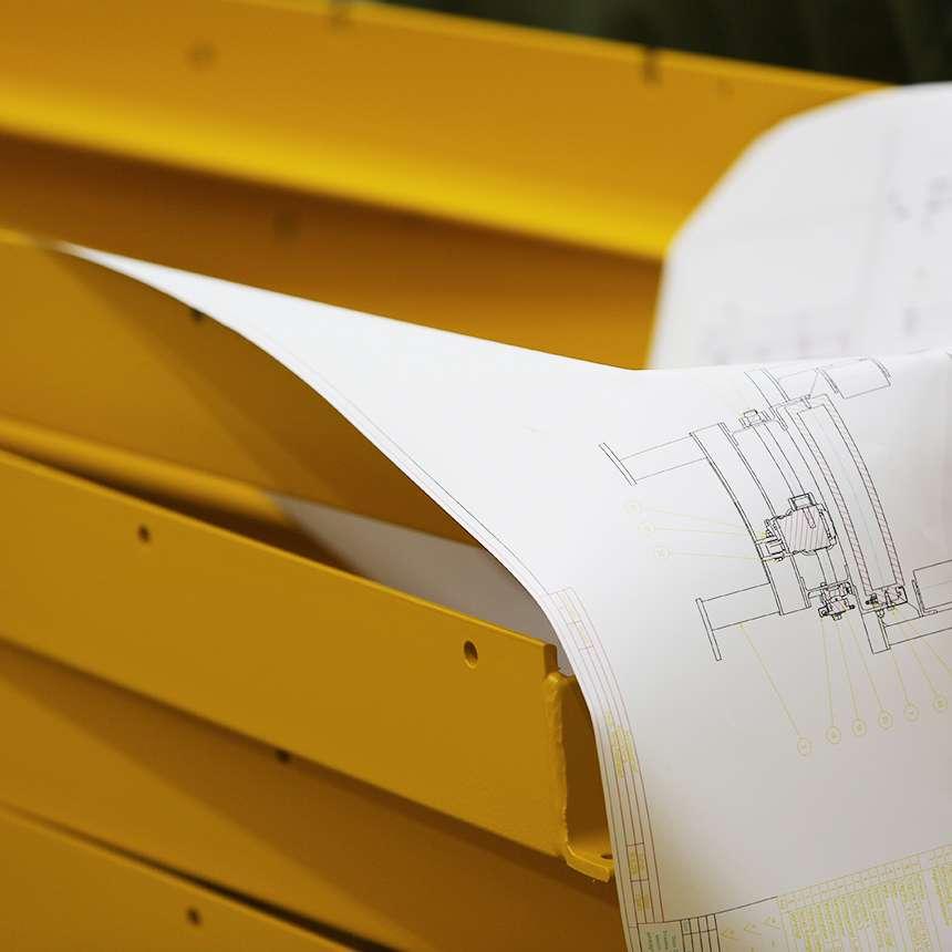 Lohnfertigung im Stahlbau nach Ihren Vorgaben oder Zeichnungen