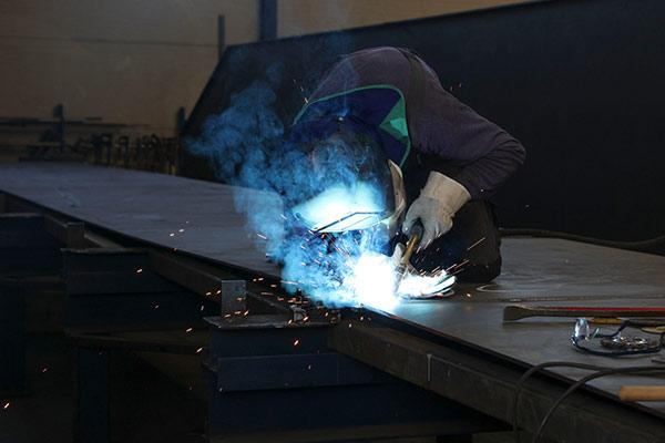 Lohnfertigung Stahlbau