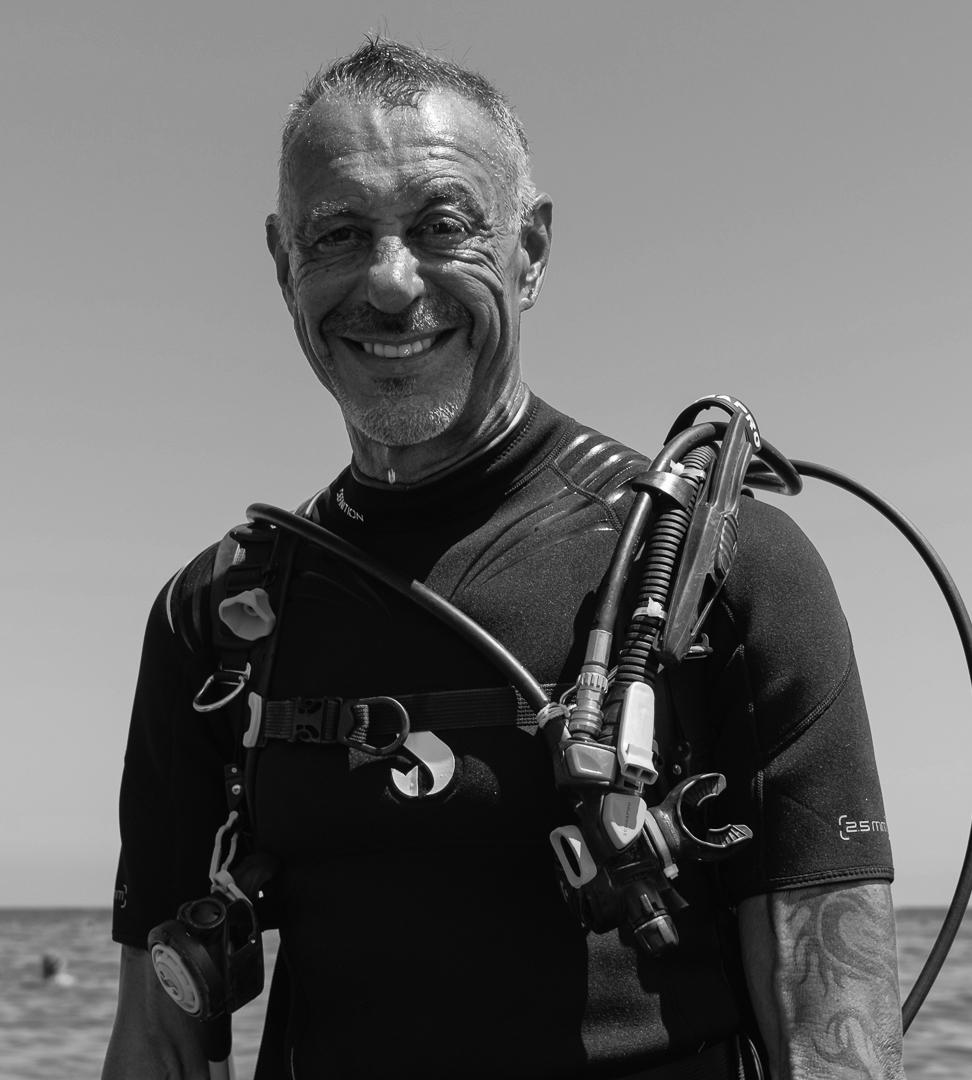 Kalliopi Dive College team member and instructor - Chris