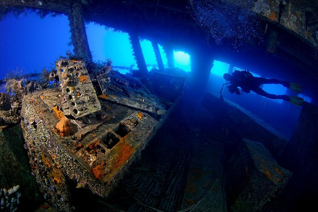 Zenobia Shipwreck Diving - Kalliopi Dive College