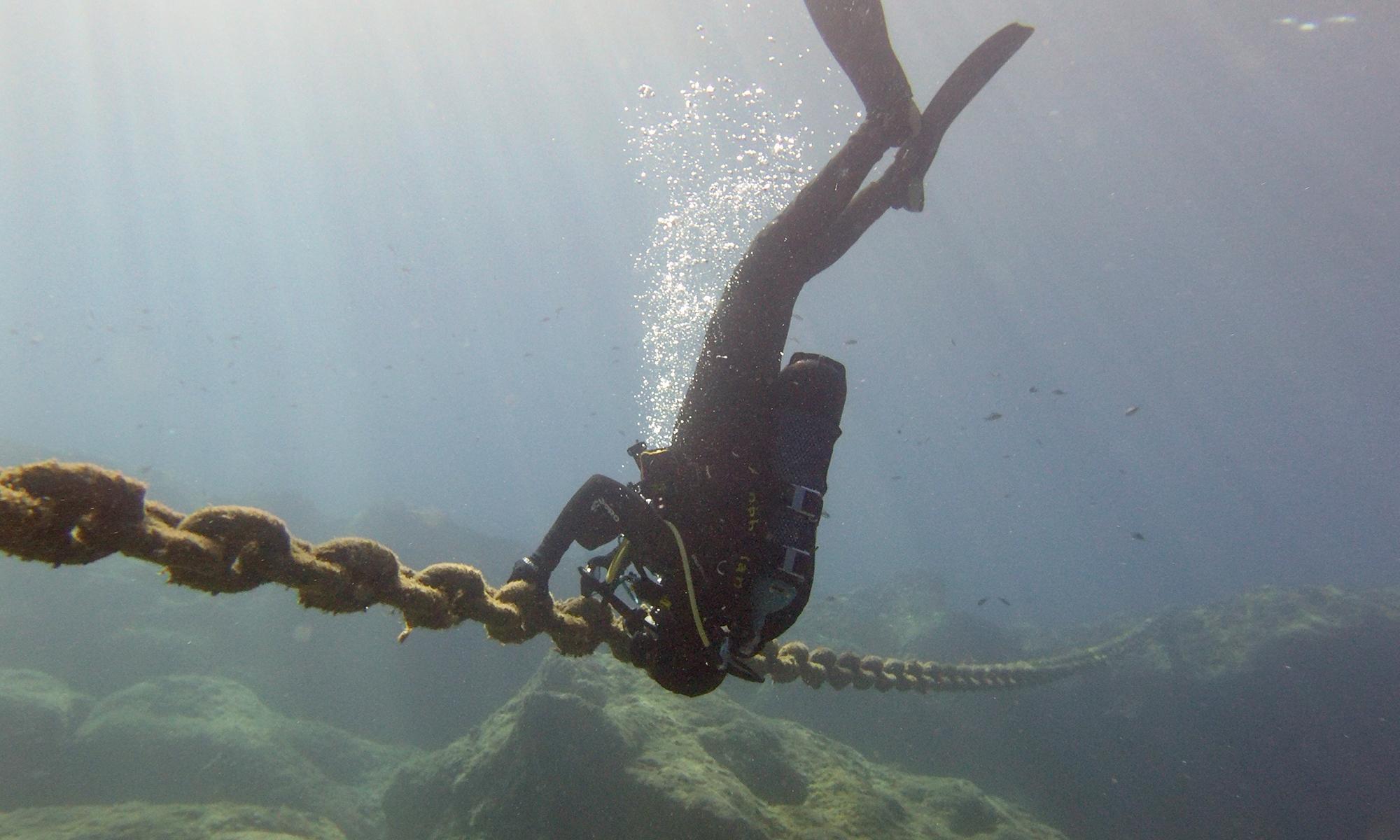 Kalliopi Dive College Dive Master internship