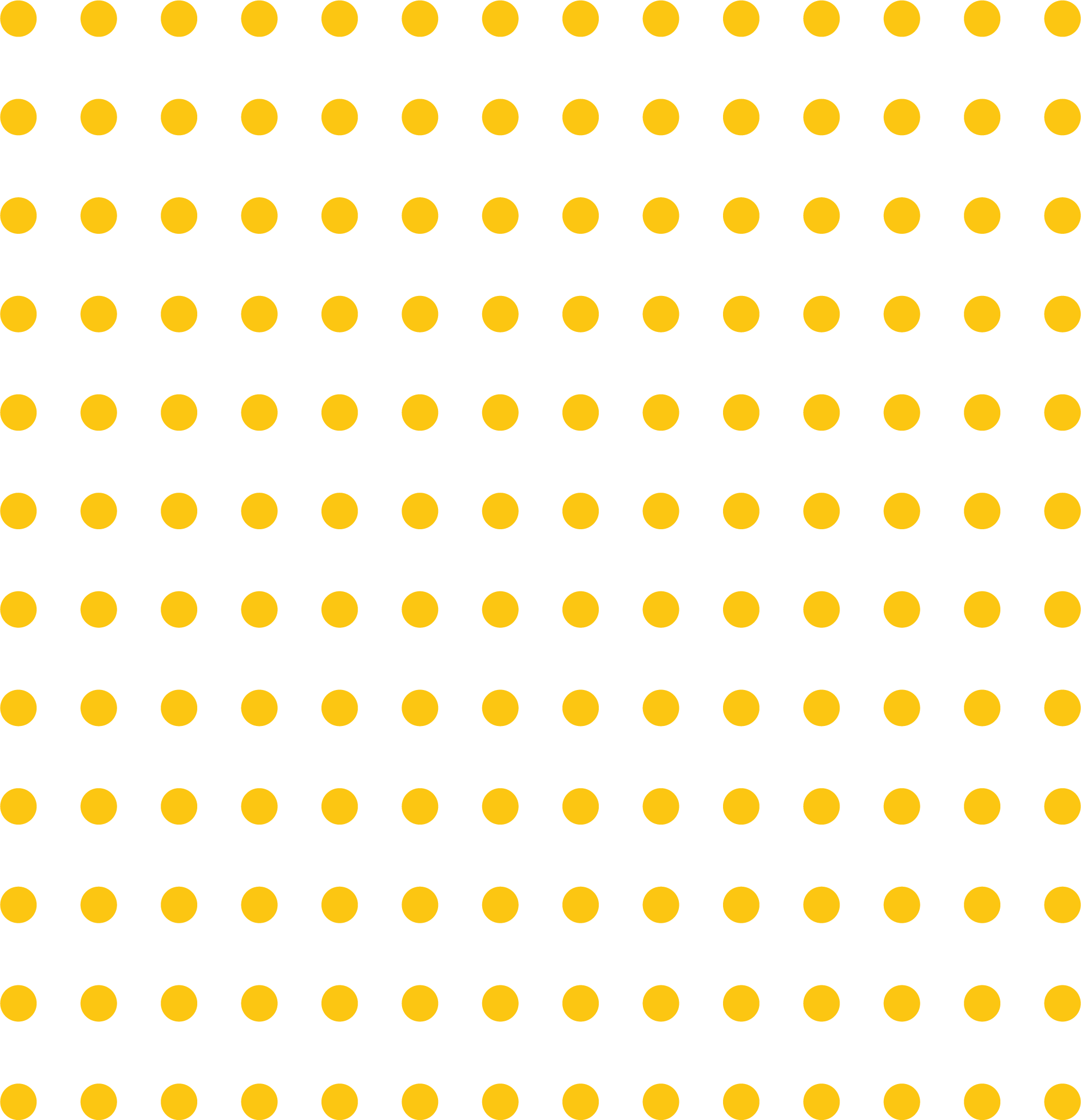 Orange Dot Pattern