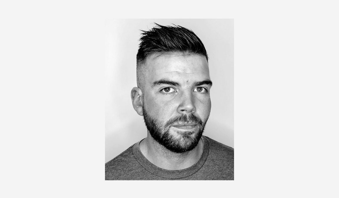 Customer portfolio shot - Hair cut and beard trim.