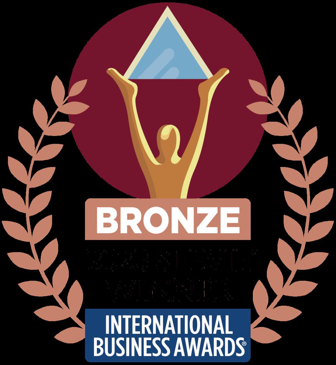 Bronze 2020 Stevie Winner
