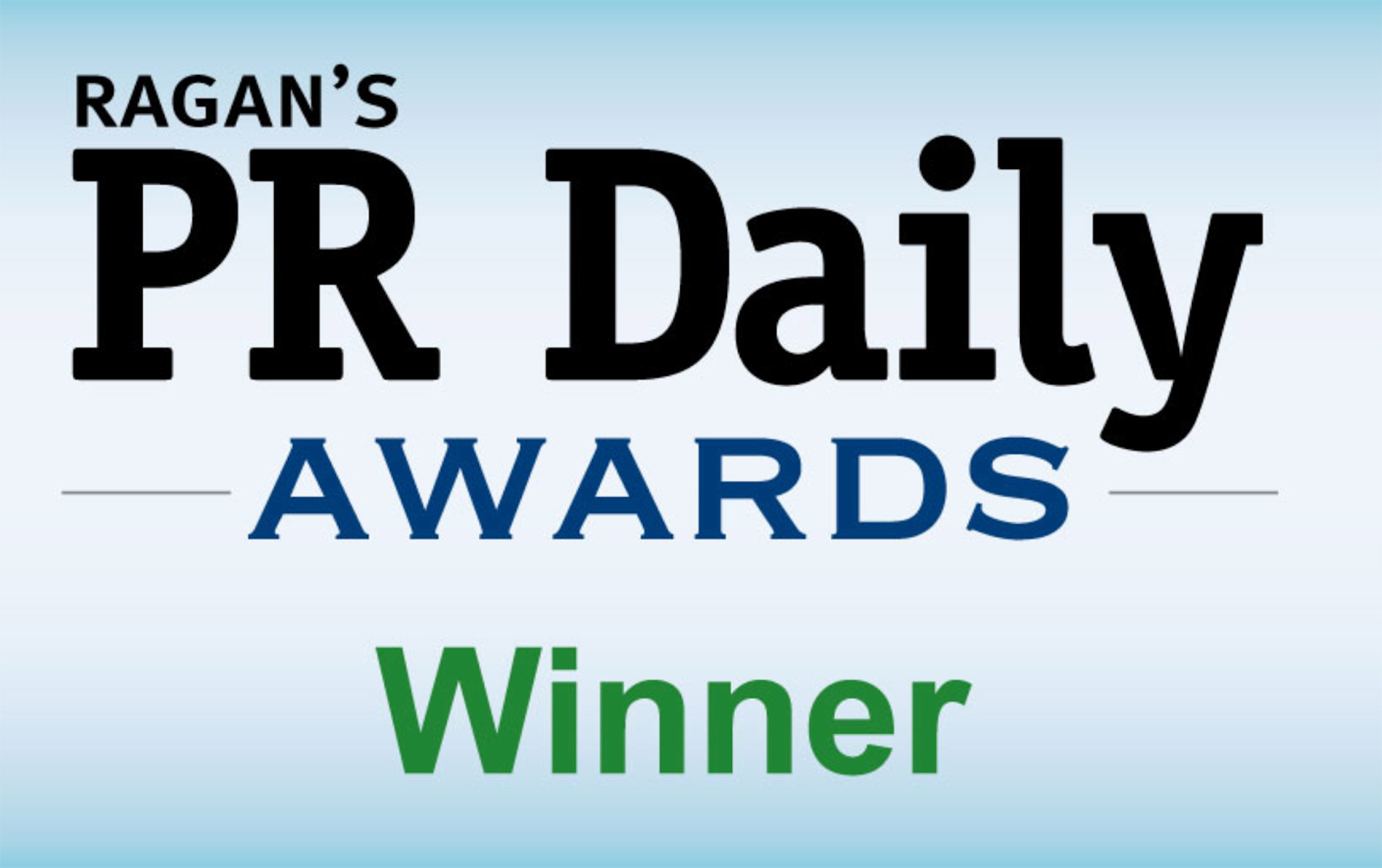 Ragan's PR Daily Awards Winner