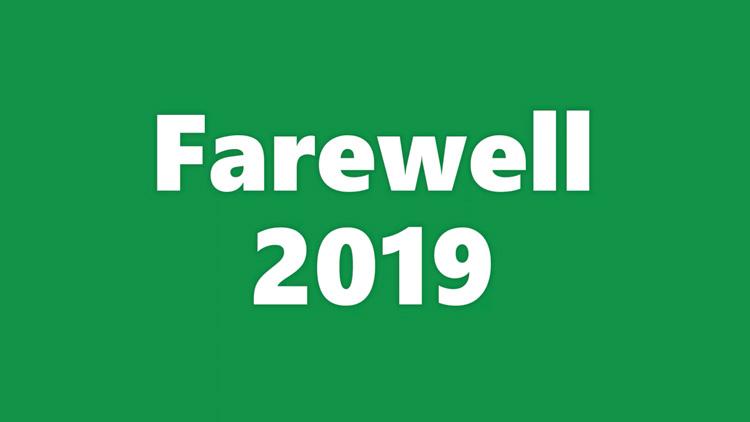Goodbye, 2019! Hello, 2020!