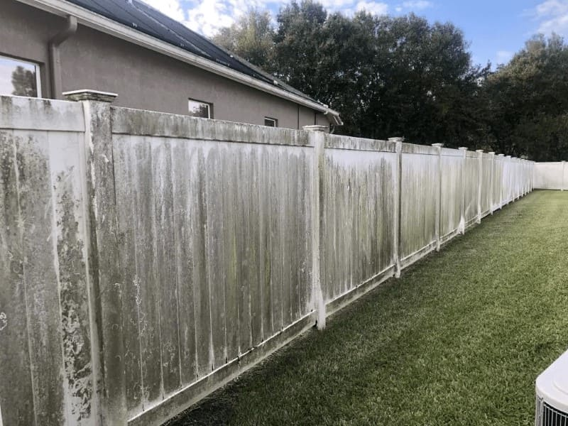 fence before paver sealing