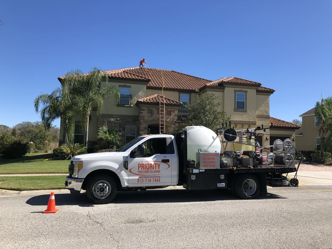Exterior Cleaning Image Roof Cleaning in Wesley Chapel