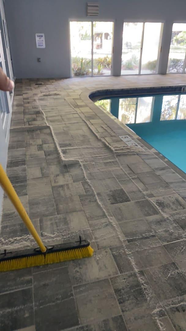 basin paver repairs