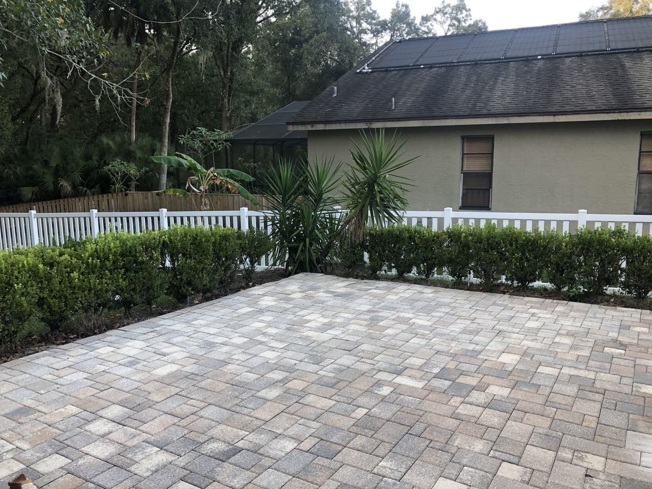 pavement house  paver stripping