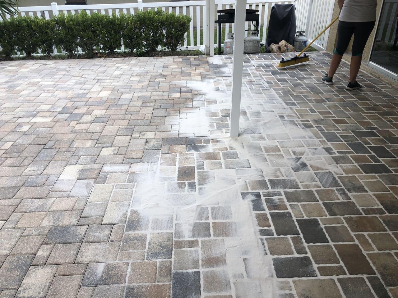 pavement paver sealing