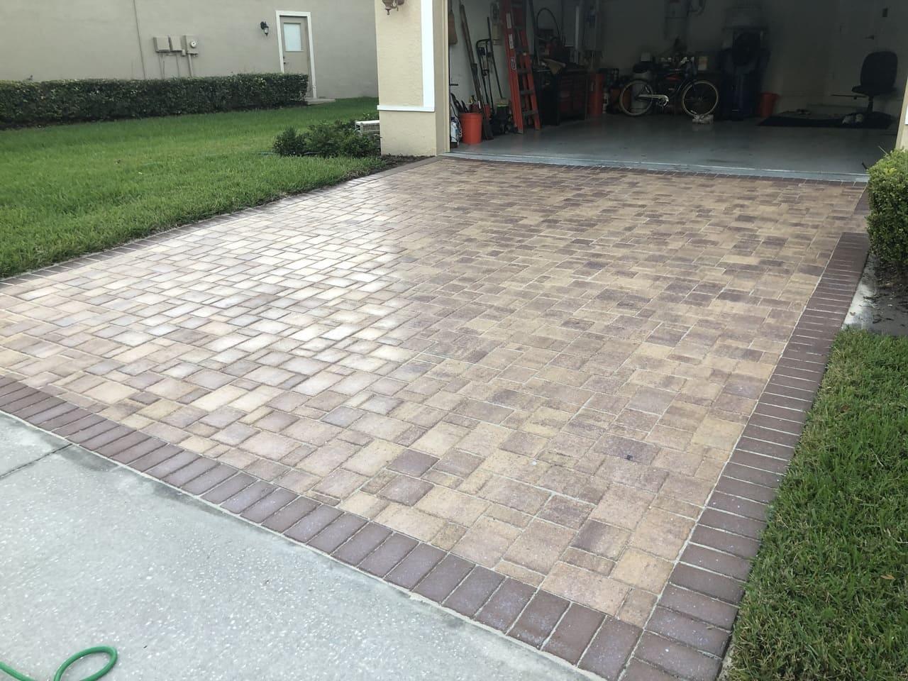 garage pavement paver sealing