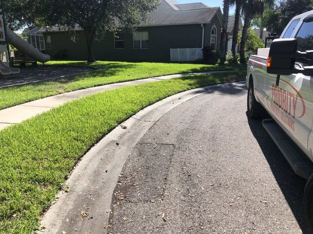 turn after paver repairs