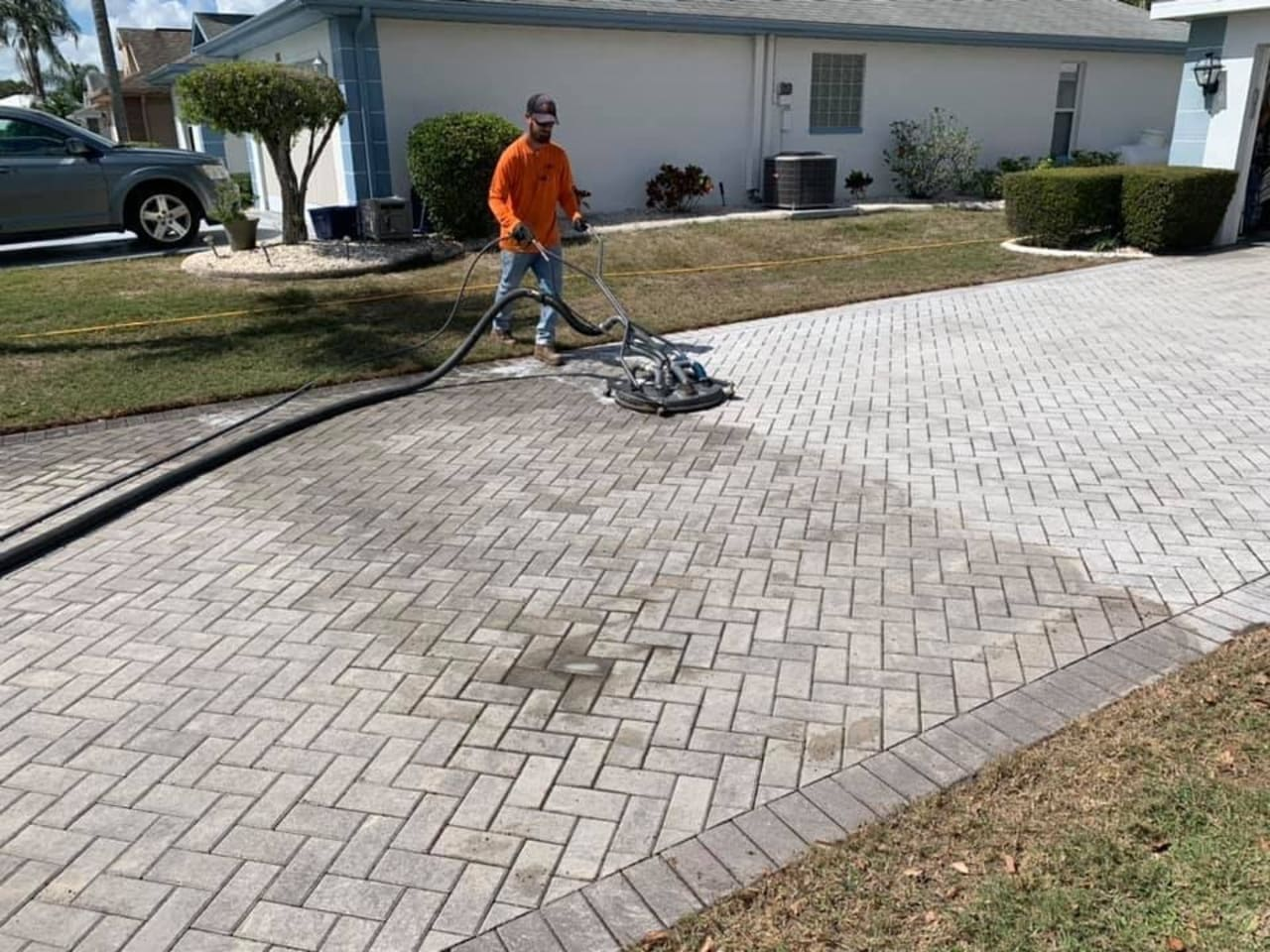 plotter paver installation