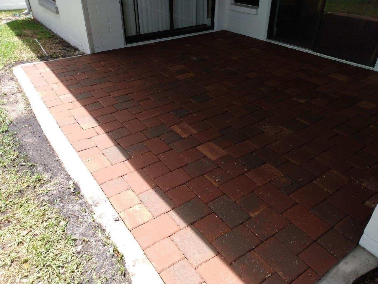 clean pavement paver sealing