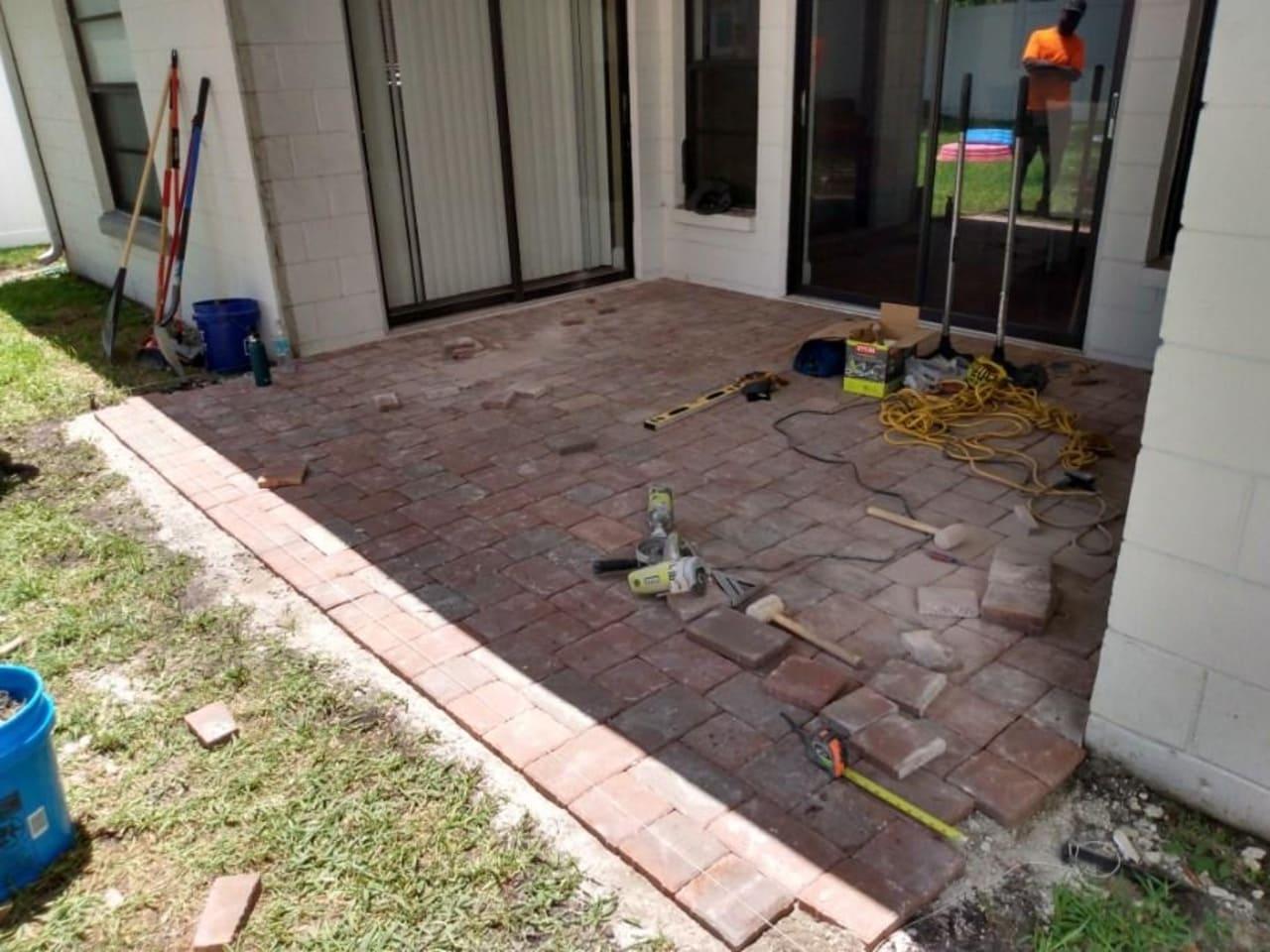 repairs paver installation